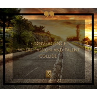 """Convergence - where passion and talent collide."""