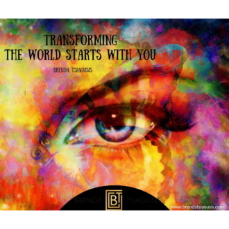 """Transforming the world starts with you."""